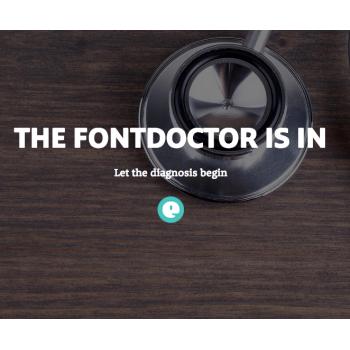 FontDoctor, je eerste hulp bij lettertypeproblemen.